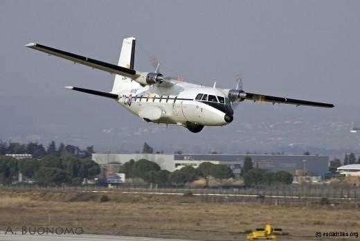 25 février 2009: le 28F-72 salue la vigie
