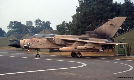 Tornado de retour de la guerre du Golfe