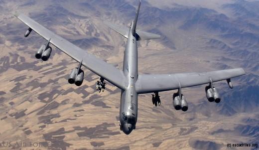 B-52H du 20th Bomber Squadron de Barksdale (La) (Photo Lance Cheung)