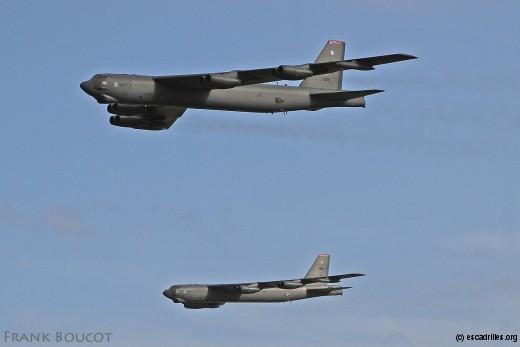 Un des 75 B-52H de l'inventaire de l'USAF