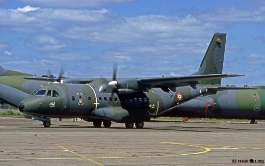 Le même avion, toujours de l'Albret, en juin 1991