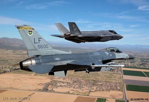Entre le F-16 et le F-35, il y a un espace pour le Rafale ... et l'Eurofighter