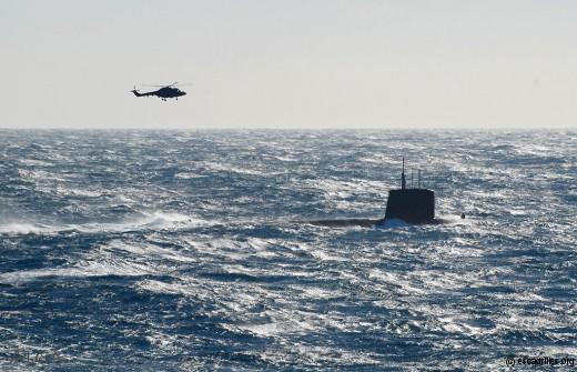 L'objectif de tout équipage de Lynx: débusquer le sous-marin