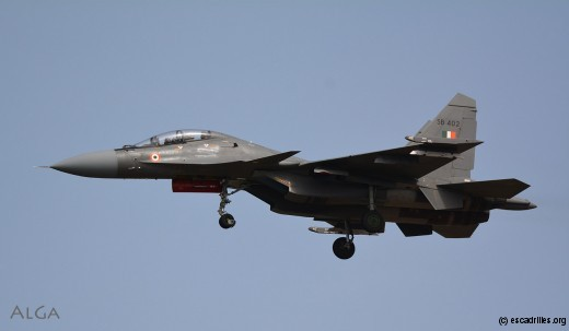 Le Sukhoi 30MKI, en grande partie 'made in India'