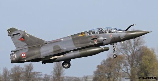Mirage 2000D, EC 2/3 Champagne