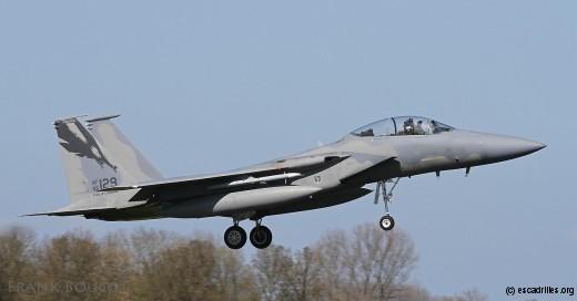 Le seul F-15D représenté, appartenant au 144e FW