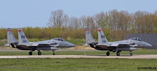 Après 2015, le défilé de F-15 de l'ANG continue ...