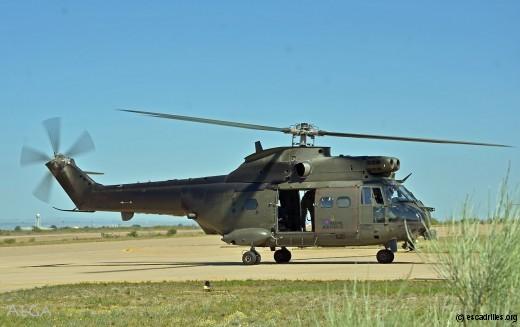 Précurseurs chez les Tigres, les Puma du Sqn 230 (RAF)