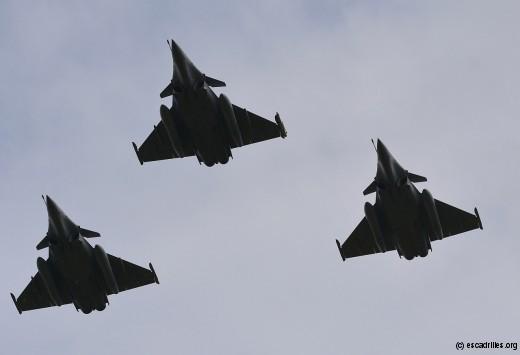 Trois escadrilles pour l'Aquitaine à compter de mai 2016