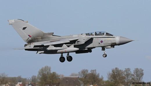 Tornado du Marham Wing : sobre ou lugubre ?