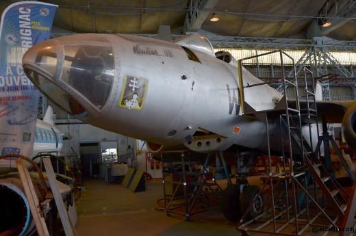 Le Vautour IIB 636, en cours de restauration