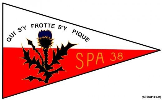 La SPA 38 'Chardon de Lorraine', première escadrille du 3/30