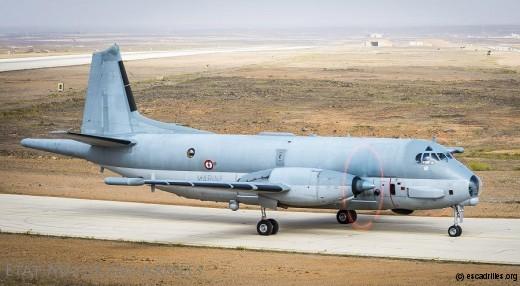 Chammal, 2016: faute d'embruns le 21F-23 avale de la poussière