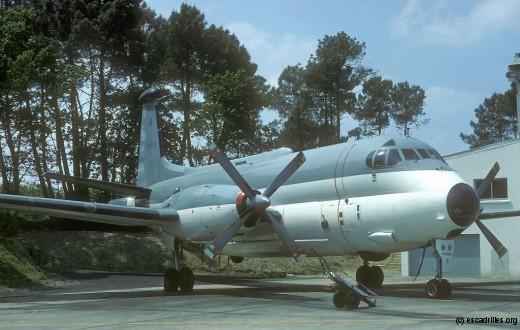 La 24F fut vola sur Atlantic, puis brièvement sur ATL2 (de 1992 à 1998)