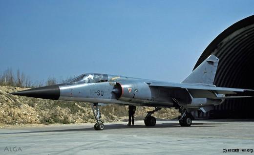 Le 1/10 Valois utilisa le Mirage F-1C de 1981 à 1985
