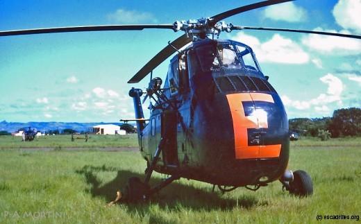 HSS de la 32F vu à Madagascar en 1965