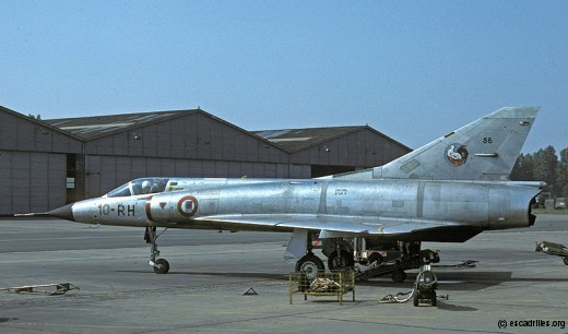 Un IIIC du 2/10, vu ici en 1977 et taggé par le 314 Sqn néerlandais