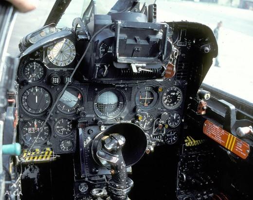 Le bureau d'un pilote de IIIC