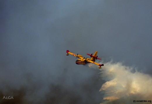 La flotte de Candair pourrait être insuffisante en cas d'incendie de très grande ampleur