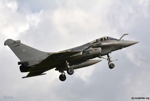 La rentrée 2016 verra voler les premiers Rafale à la 17F