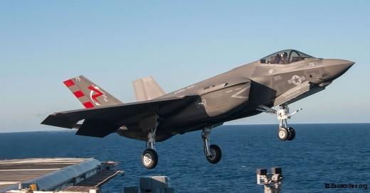 Wave off ou touch and go pour le F-35C dans l' US Navy ?