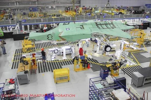 Chez Lockheed Martin, on a hâte d'accélérer le flux de production (45 avions en 2015)