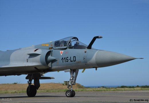 Le Mirage 2000 fera les beaux jours du 2/5 jusqu'en 2020 ... ou plus