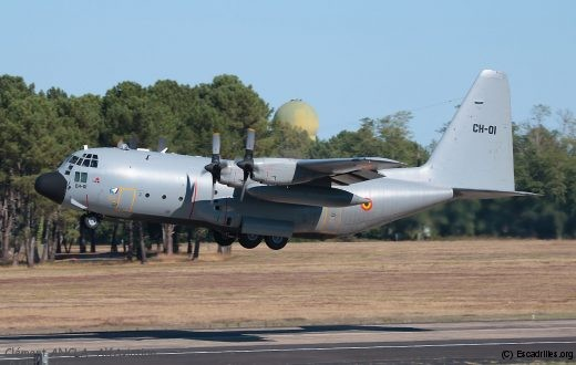 Un C-130 belge du 11è Wing de Melsbreok