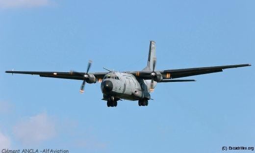 Pas d'exercice aéro-terrestre sans son Transall, ici le 206