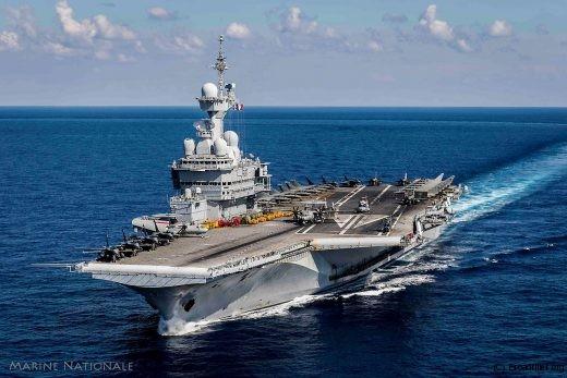 Fleuron (visible) de la Marine, le groupe aérien embarqué sur le CdG