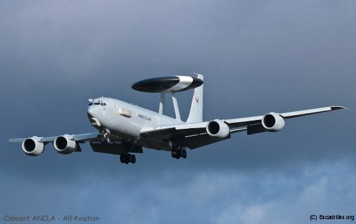 Le concept 'train as you fight' implique la présence d'un AWACS