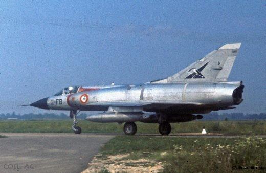 Le Mirage IIIC (ici en 1973 à Longvic): le meilleur chasseur léger de sa génération