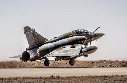 Entre 6 et 8 Mirage 2000 en Jordanie pendant 20 mois