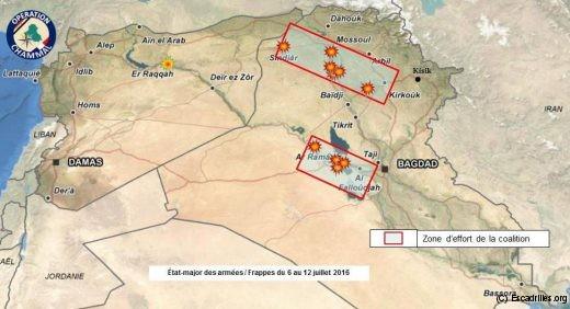 Début juillet, on en était encore à libérer la province à l'ouest de Bagdad