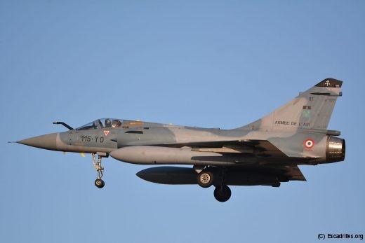 Les avions comme les pilotes et les techniciens sont détachés par rotation