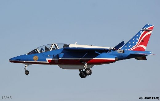 Alphajet E119 vu le 9 janvier
