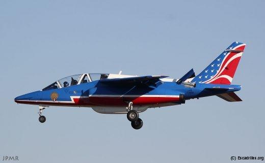Le E146 F-UHRR vu le 9 janvier