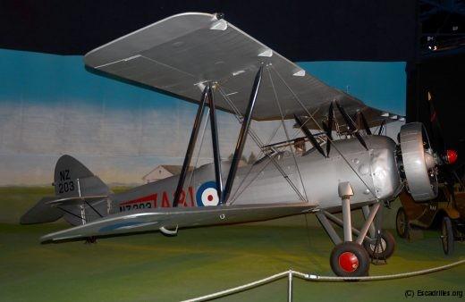 Pièce rare, cet Avro 626 prefect affecté à la RNZAF en 1935