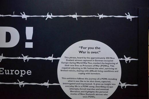 Des centaines d'aviateurs de la RNZAF connurent les camps de prisonniers allemands (ou japonais)