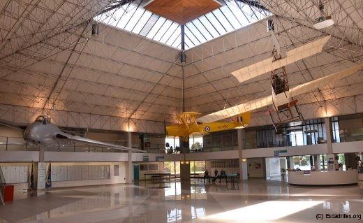 Le magnifique hall d'entrée du RNAF Museum de Wigram