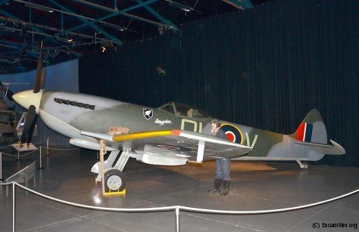 Le prestigieux Spitfire fait évidemment partie de la collection du RNZAF Museum