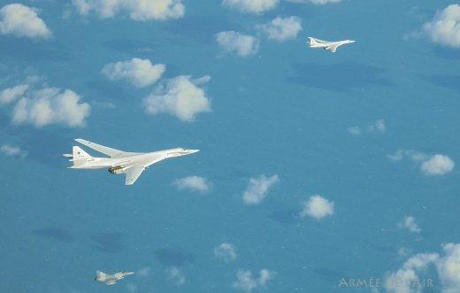Ce n'est pas en Lituanie que les 2000 du GC 1/2 ont intercepté ces Tu-160 !
