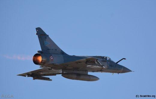 Un des 2000C qui se frottent aux F-16, chaque jour
