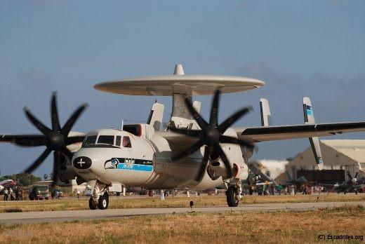 Hawkeye de la VAW-126 de l'US Navy vu en 2010