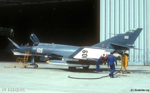 Le 109, vu aux mains de la technique en juillet 1979