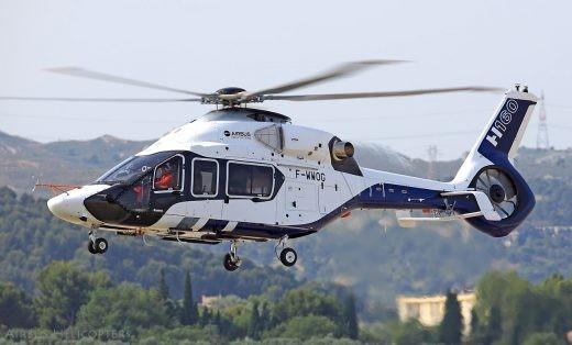 Le futur hélicoptère interarmées (pas trop) léger, vu lors de son premier vol, le 13 juin 2015