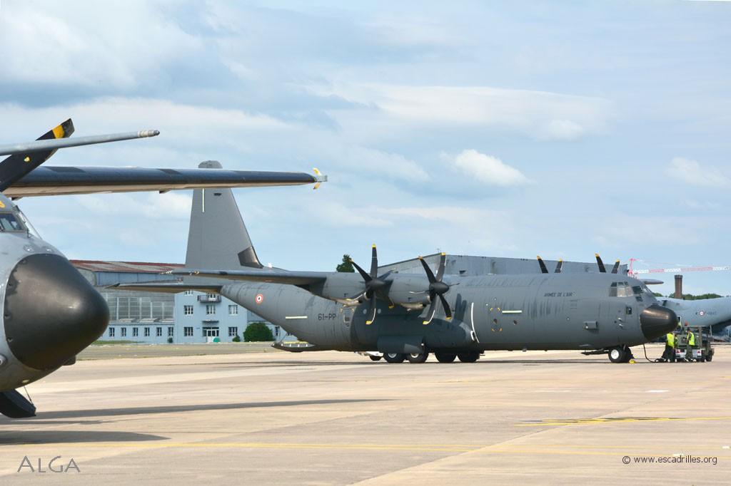 Les C-130J sont actuellement aux mains du 2/61 Franche-Comté