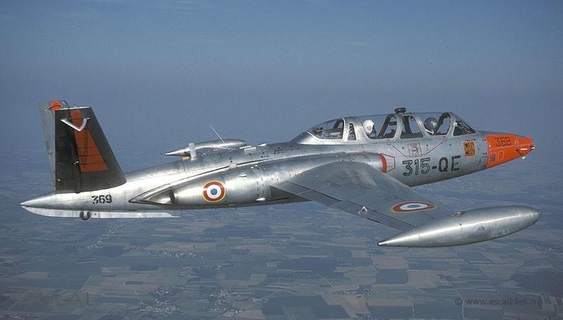 Papy Fouga fit de la résistance à Cognac jusqu'en 1996 à l'Escadron de Formation des Instructeurs Pilotes (photo Pascal Schwarz)